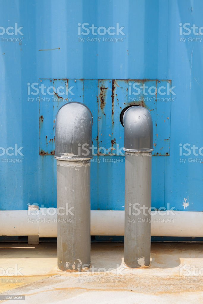 water steel pipe stock photo