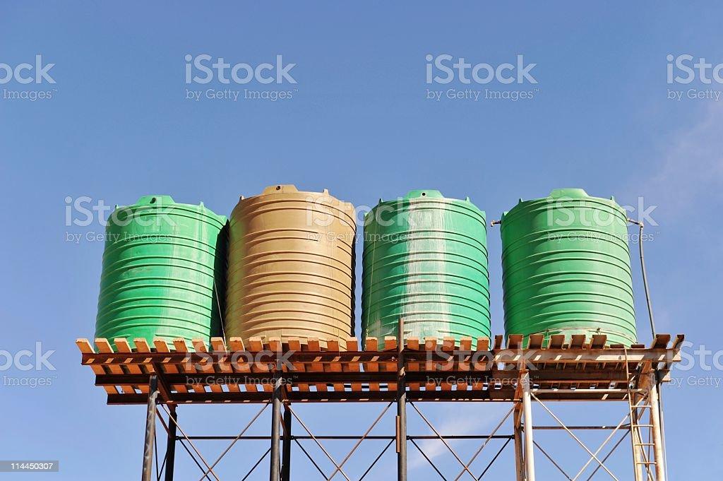 Water storage stock photo