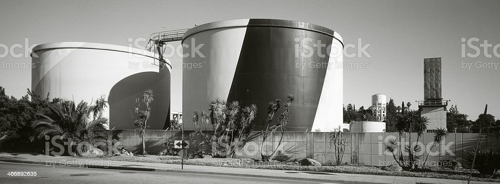 Water Storage Tanks stock photo