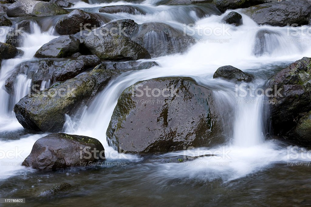 Water Stream royalty-free stock photo