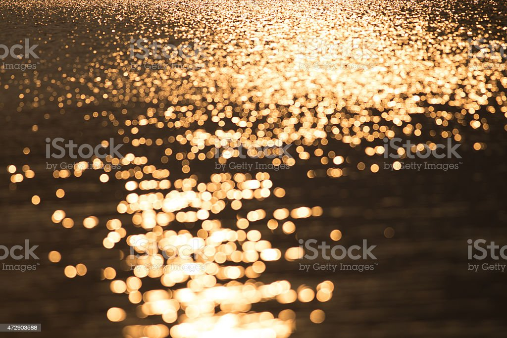 Water sunny bokeh, may use as background royalty-free stock photo