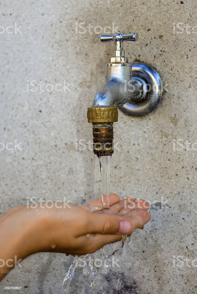 Water Supply royalty-free stock photo