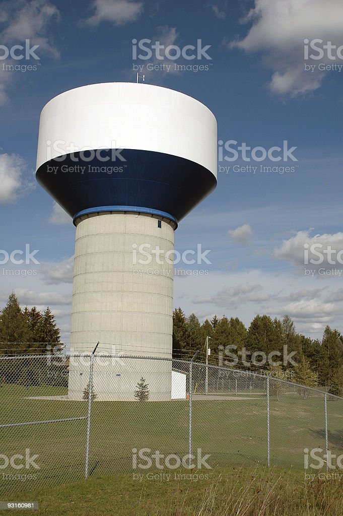 Water Supply Tower royalty-free stock photo
