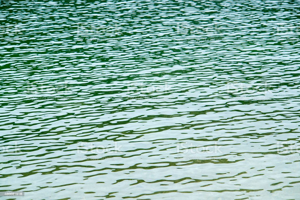 water surface detail stock photo