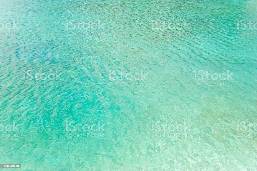 Water Surface of a Lagoon stock photo