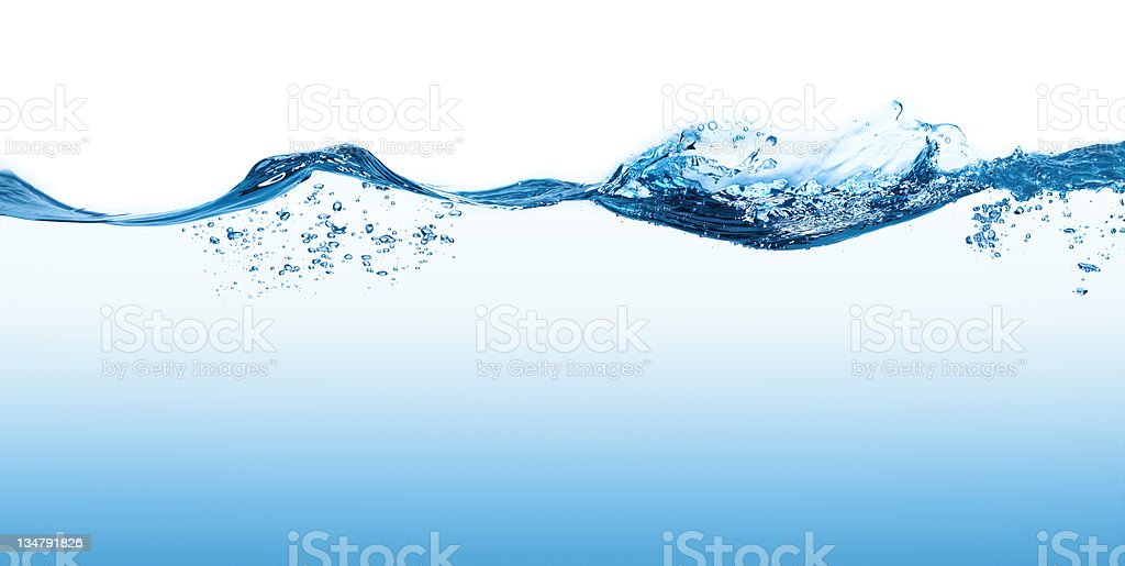 Water Surface  XXL royalty-free stock photo