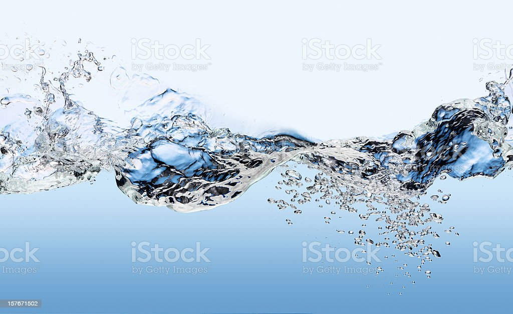 Water Surface  XXXL royalty-free stock photo