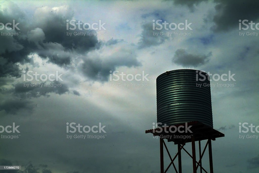 Water Tank outback royalty-free stock photo