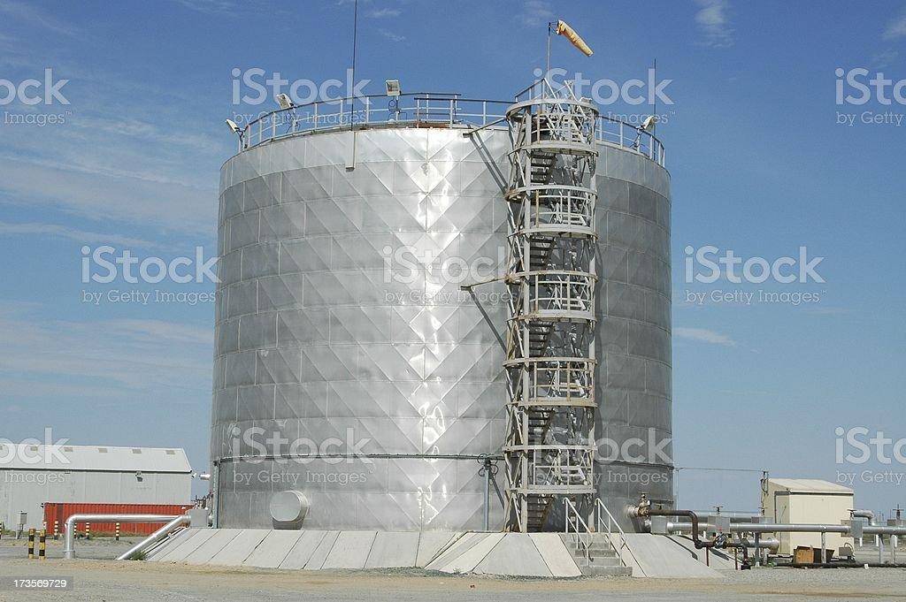Water tank stock photo