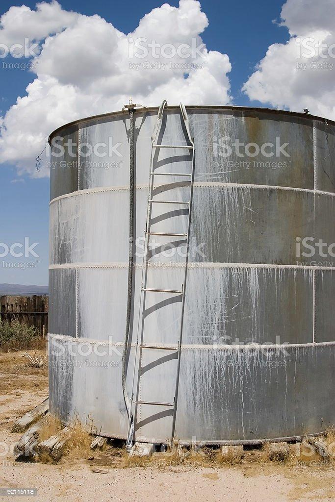 Serbatoio d'acqua foto stock royalty-free