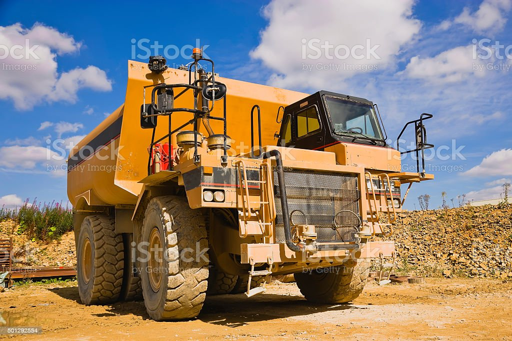 Water Tanker at a Cement Plant England royalty-free stock photo