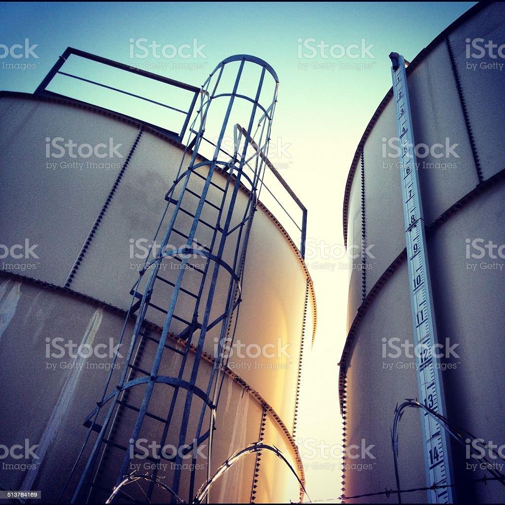 Water Tanks stock photo