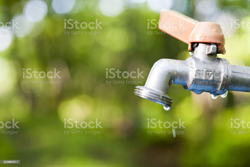 Water tap stock photo