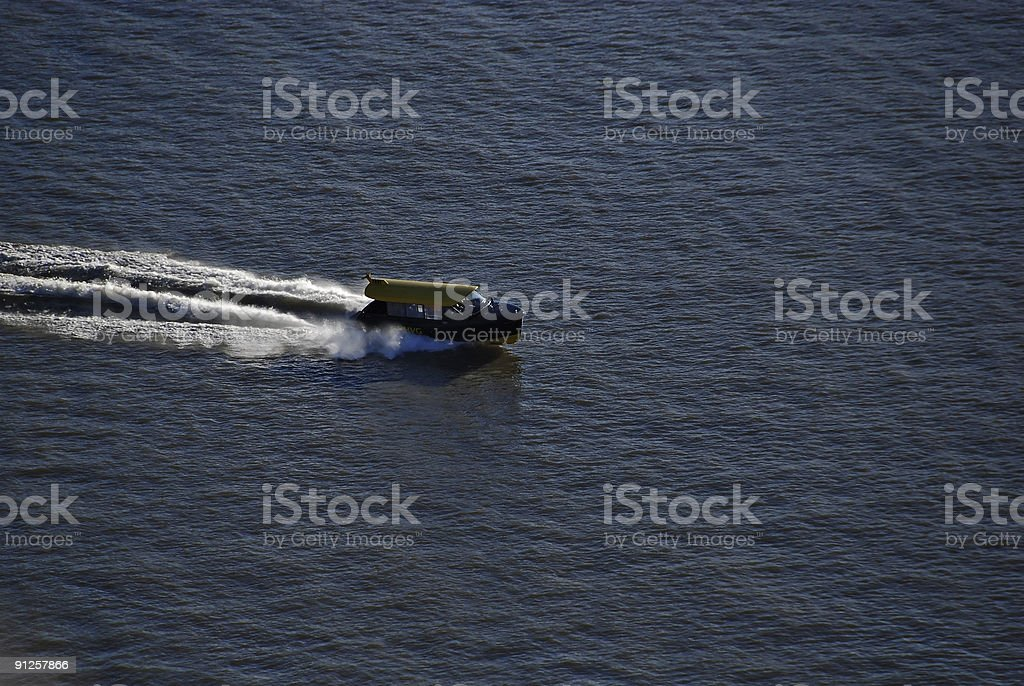 Water Taxi Cab royalty-free stock photo