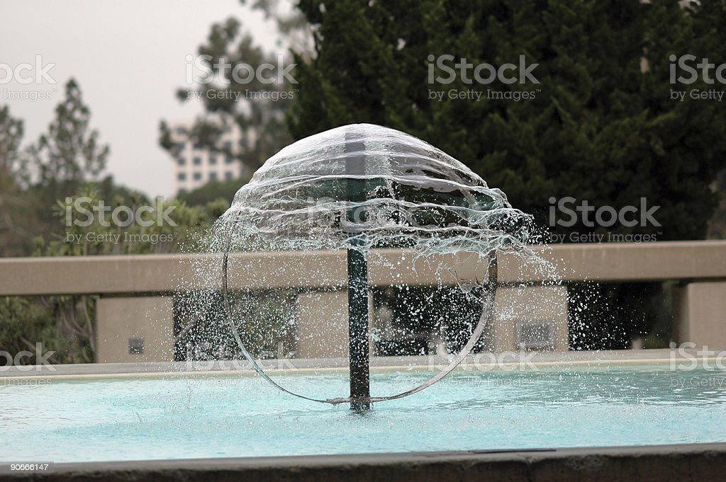 Water Tension royalty-free stock photo