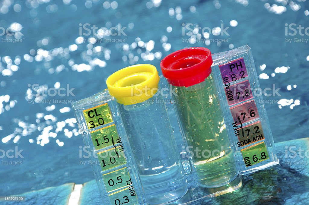 Water Test Kit royalty-free stock photo