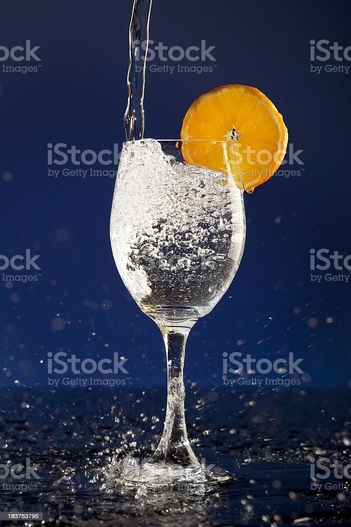 Water; The Perfectly Natural Drink stock photo