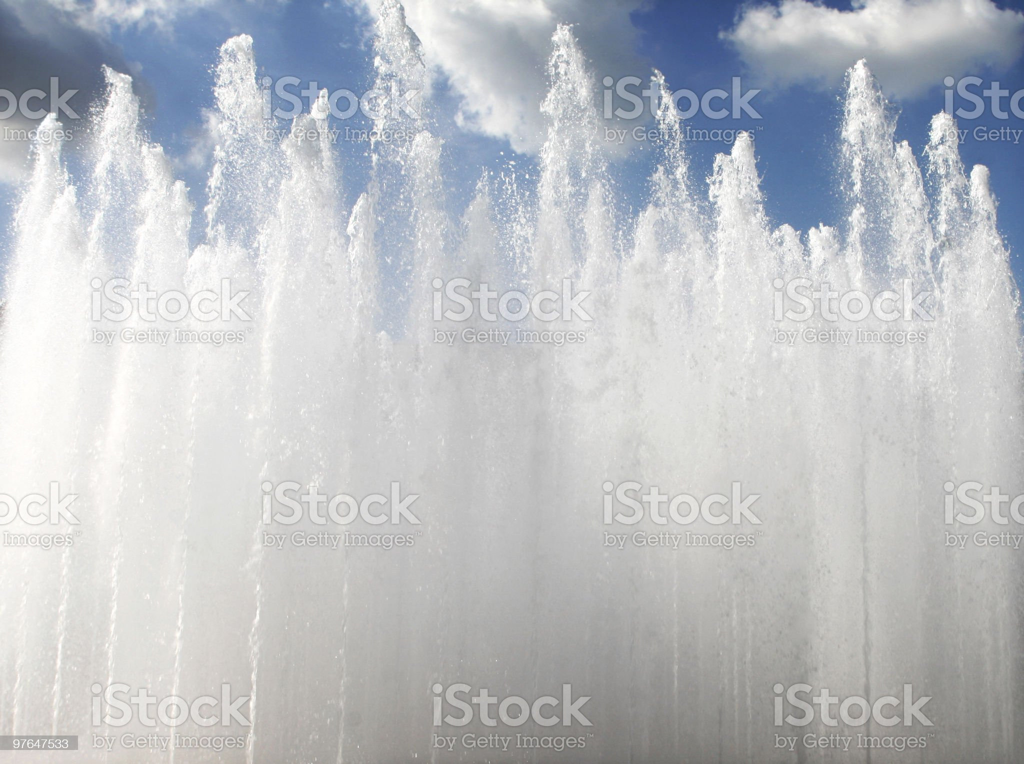 water to sky royalty-free stock photo