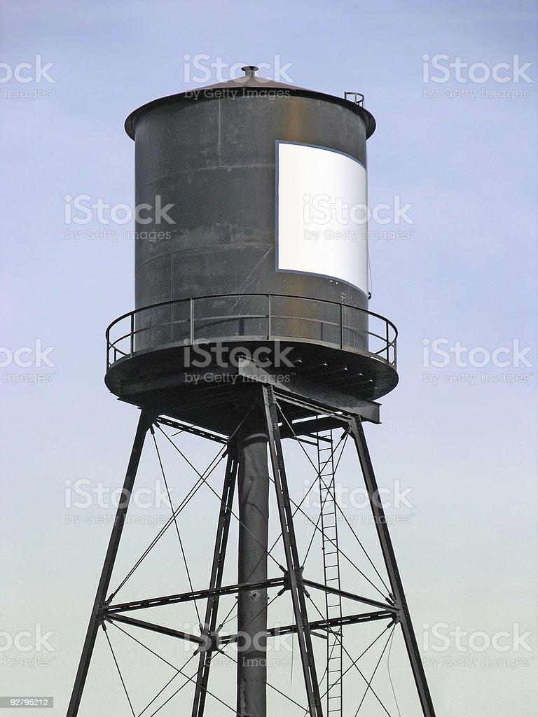 Water Tower 01 stock photo