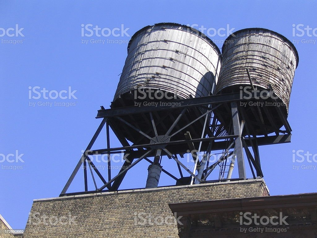 Water Tower 1 royalty-free stock photo
