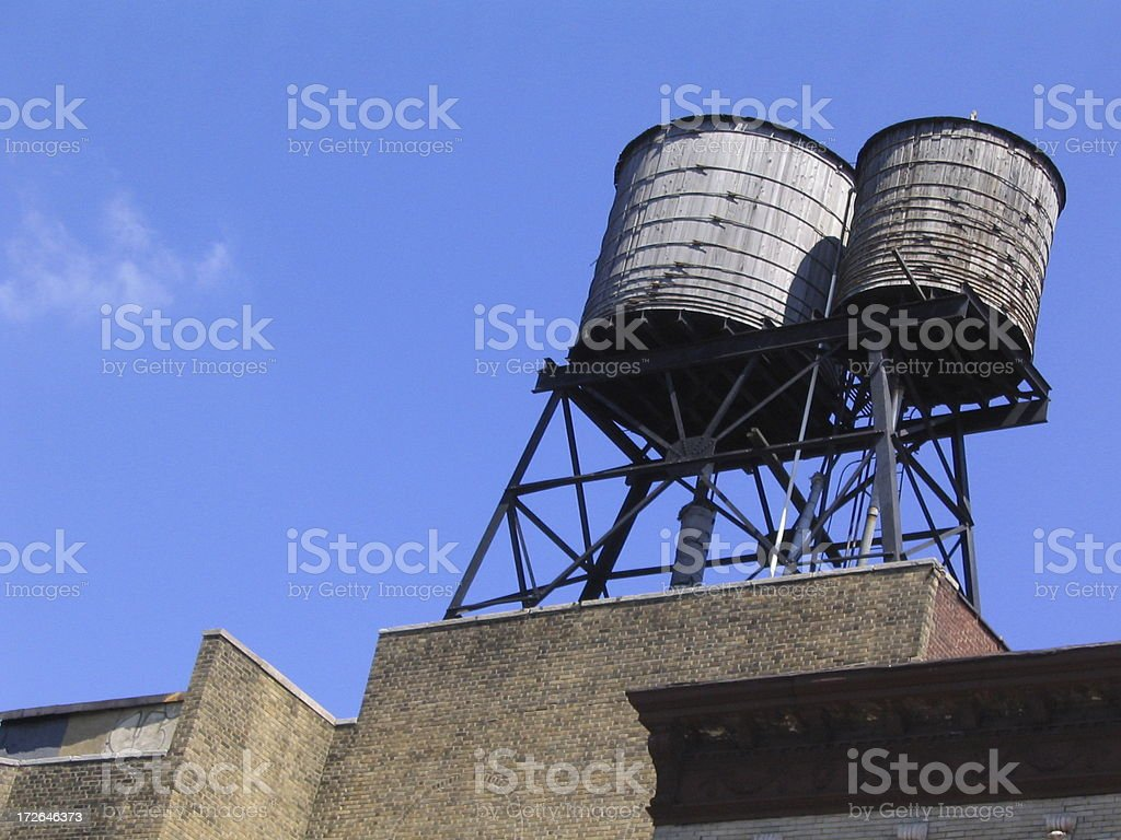 Water Tower 2 royalty-free stock photo