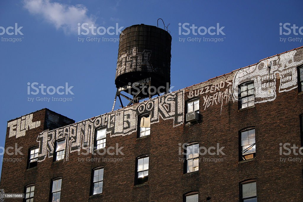 Water tower building royalty-free stock photo