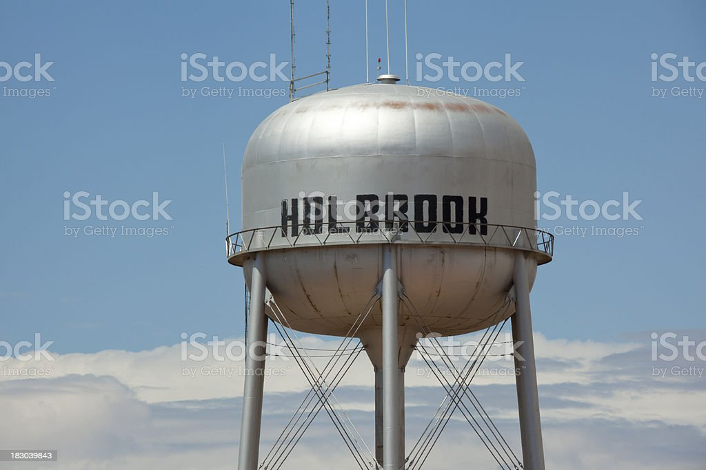 'Water Tower, Holbrook, Arizona, Route 66' stock photo