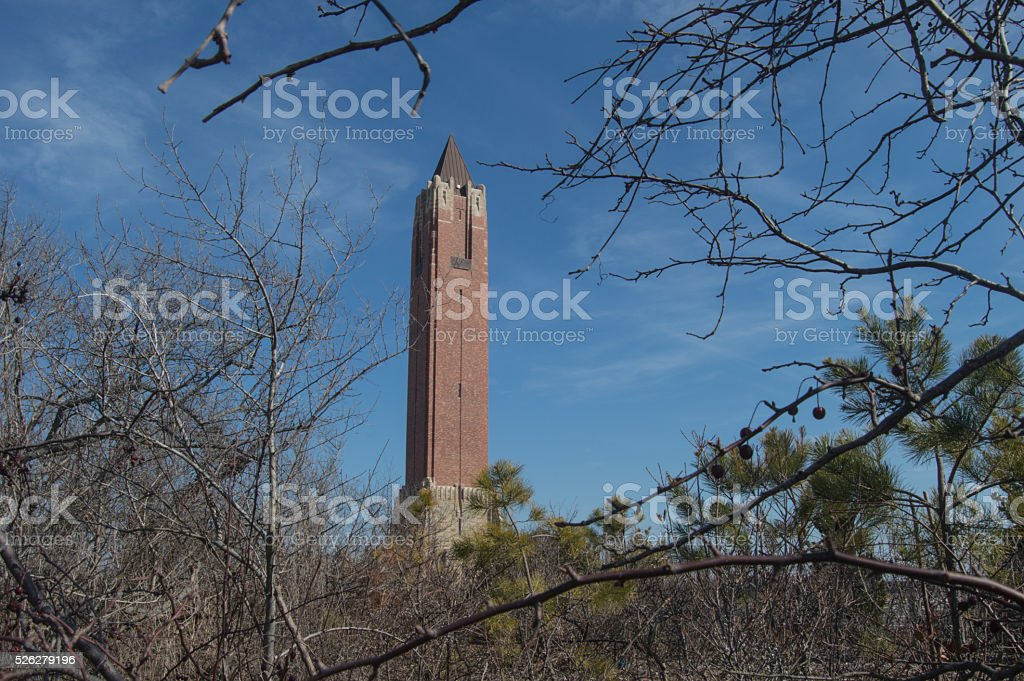 water tower stock photo