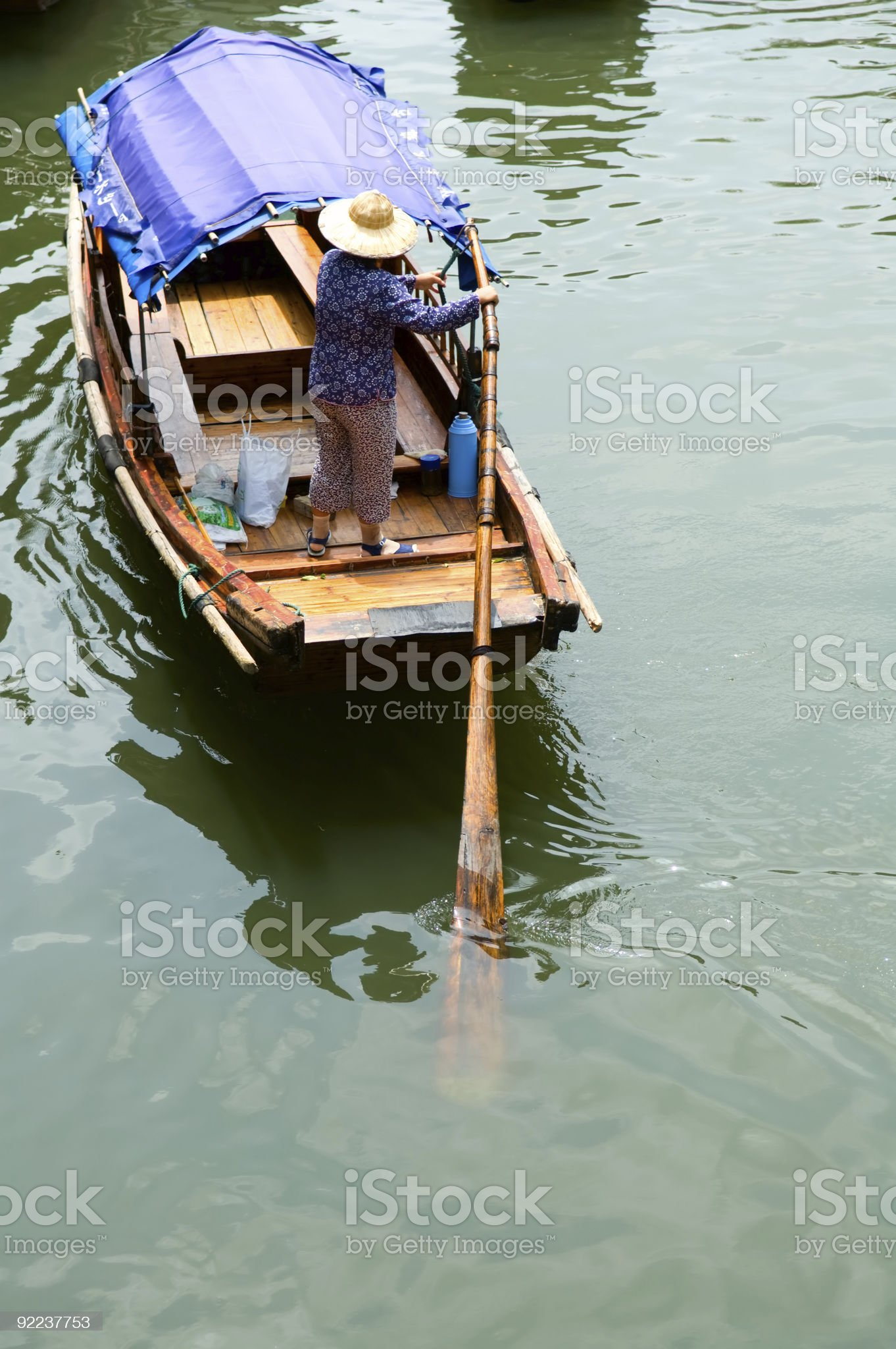 Water town in China royalty-free stock photo