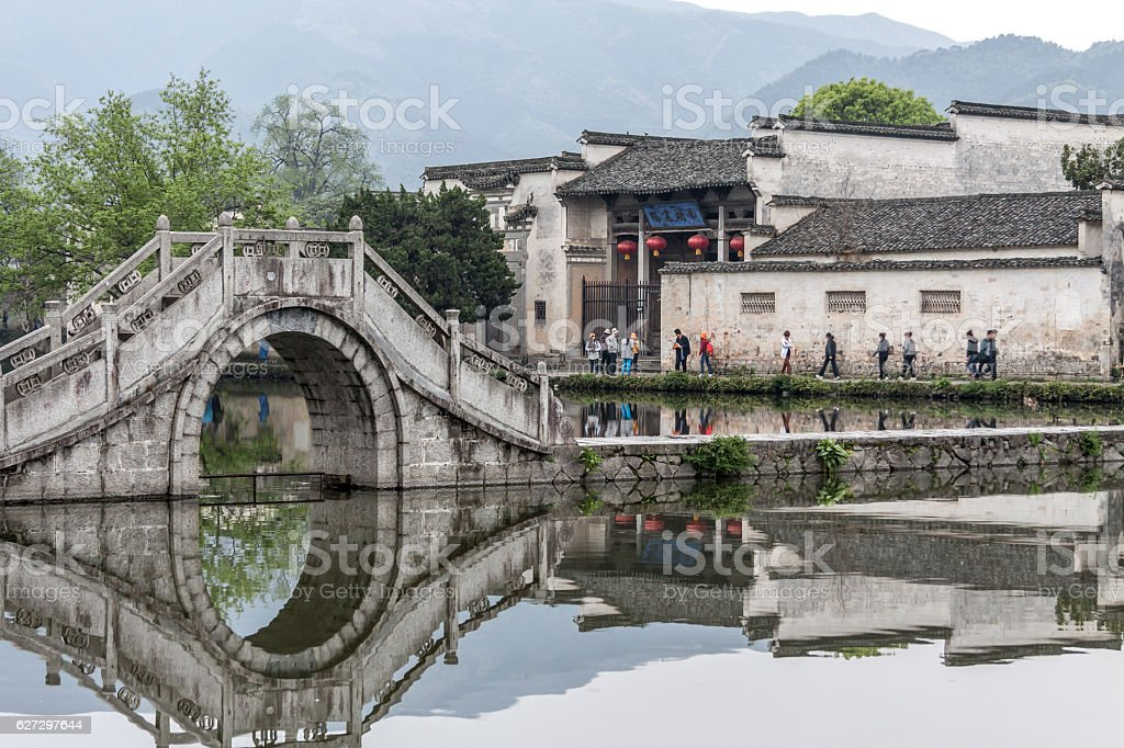 water town in south China stock photo