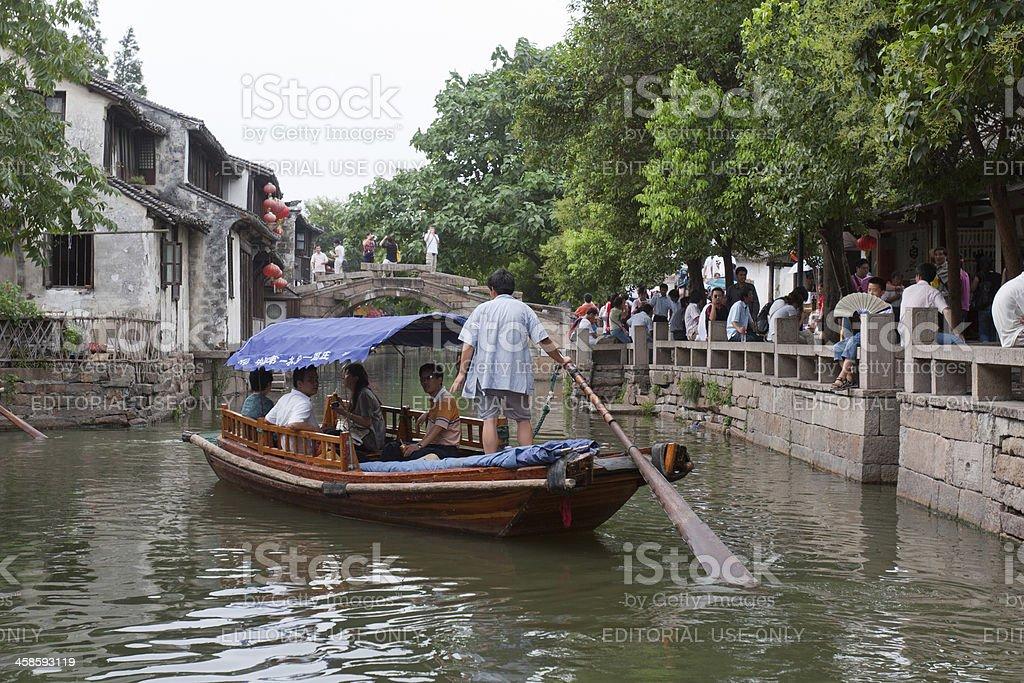 Water Town Zhouzhuang, China royalty-free stock photo