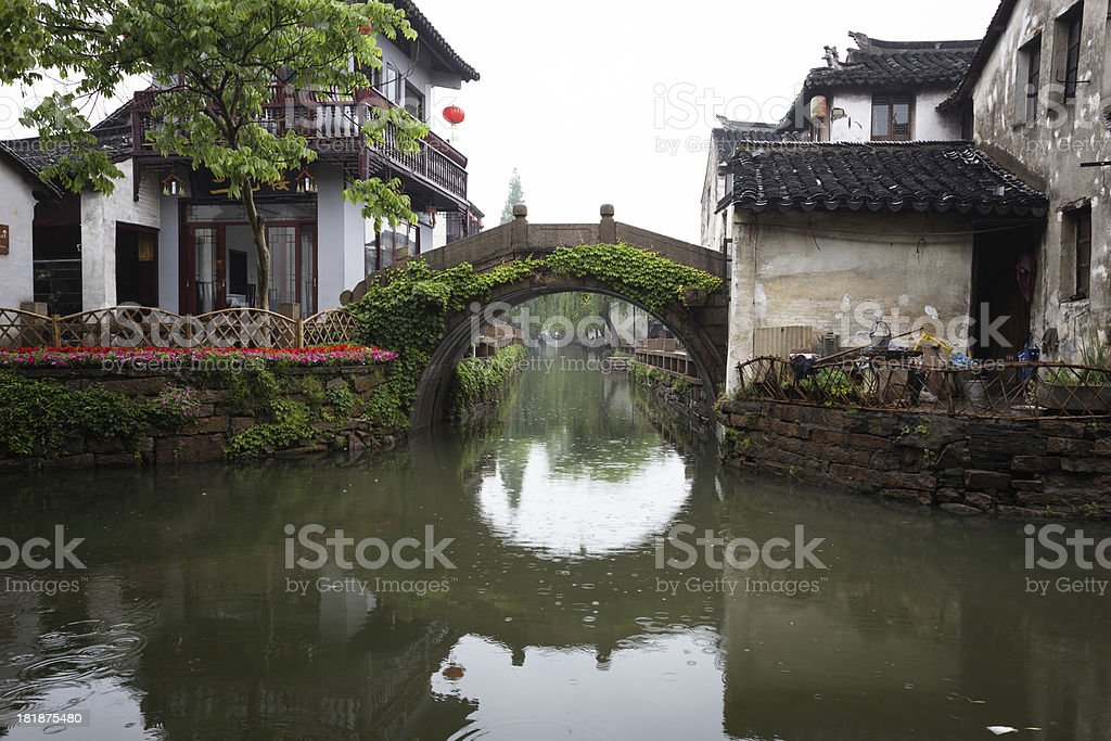 Water town Zhouzhuang royalty-free stock photo
