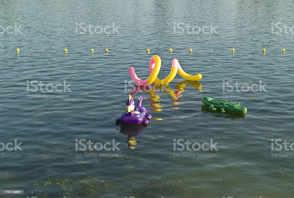 Water toys royalty-free stock photo