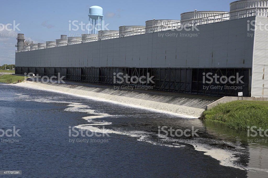 Water Treatment Center royalty-free stock photo