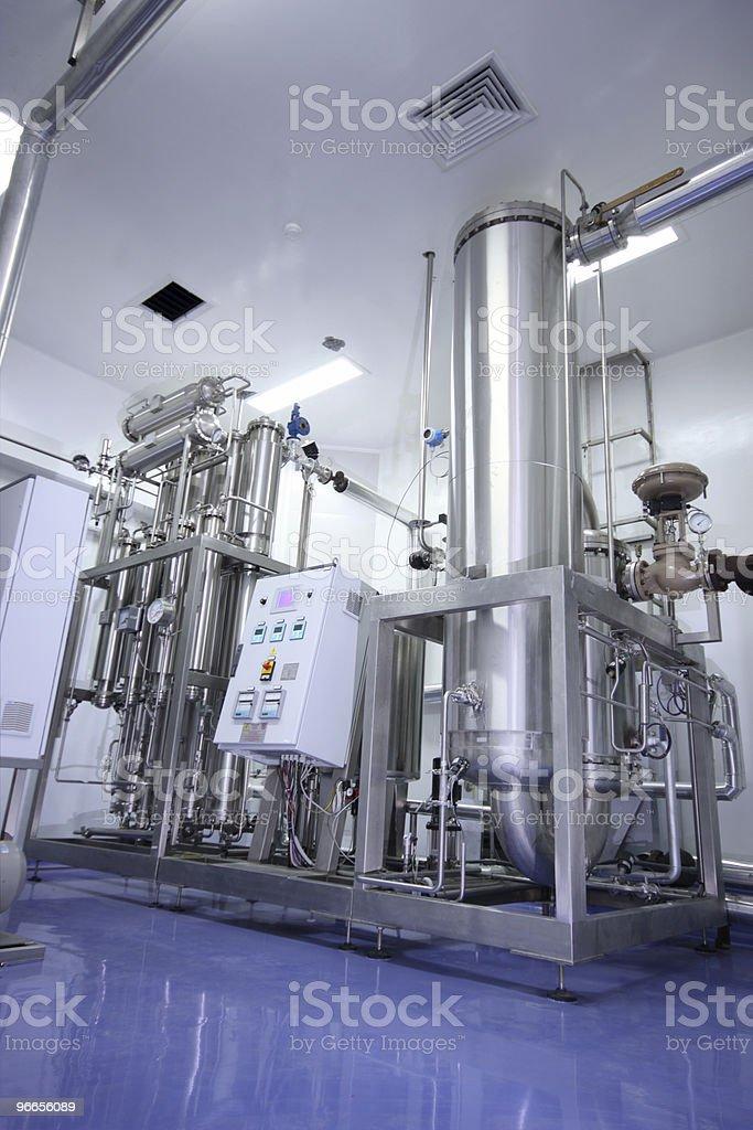 Water treatment machine royalty-free stock photo