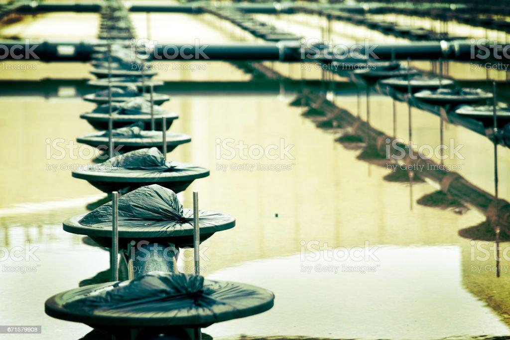 Water treatment stock photo