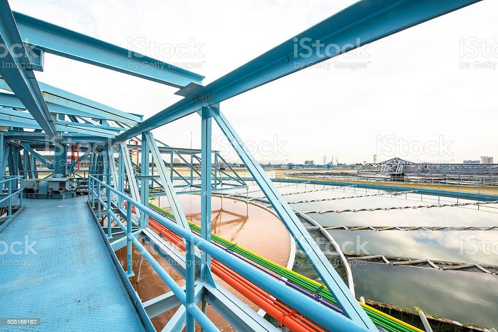 Water Treatment Plant stock photo