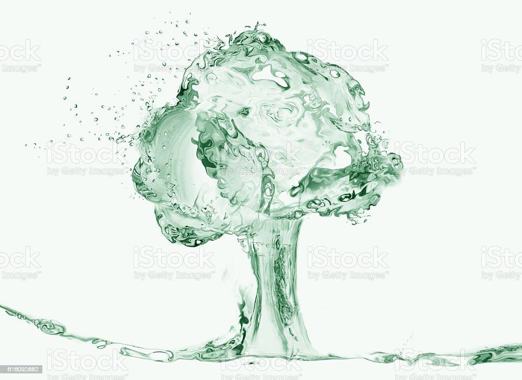 Water Tree royalty-free stock photo