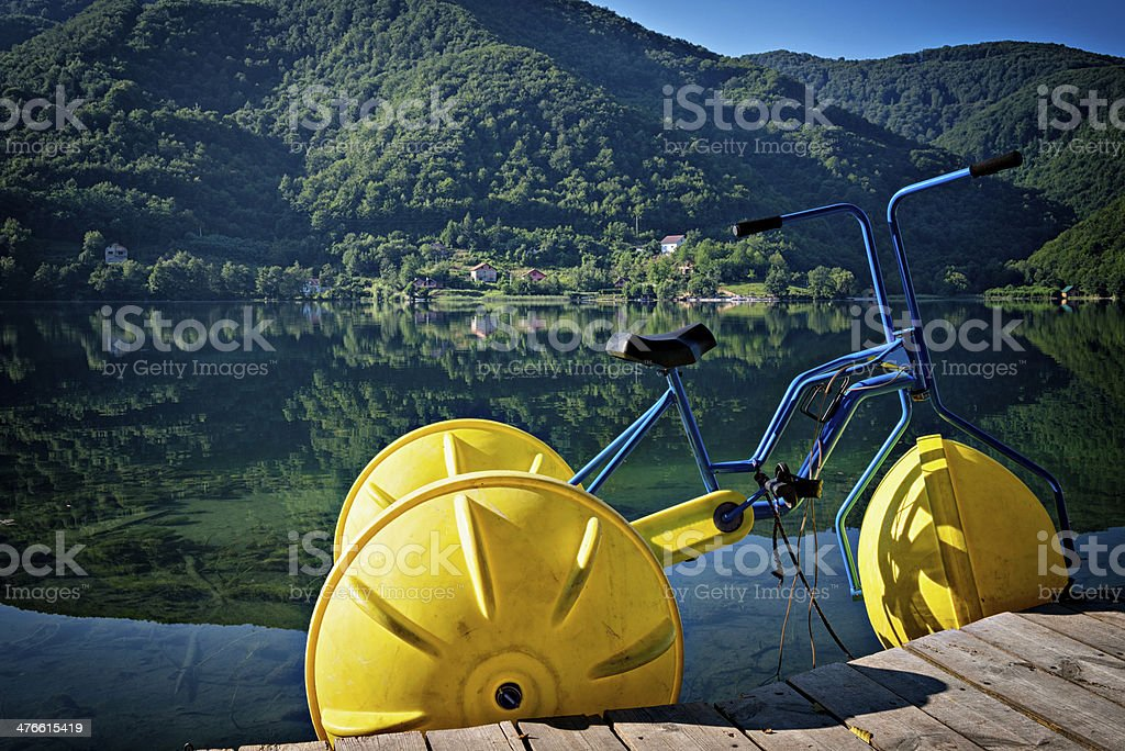 Water Tricycles royalty-free stock photo