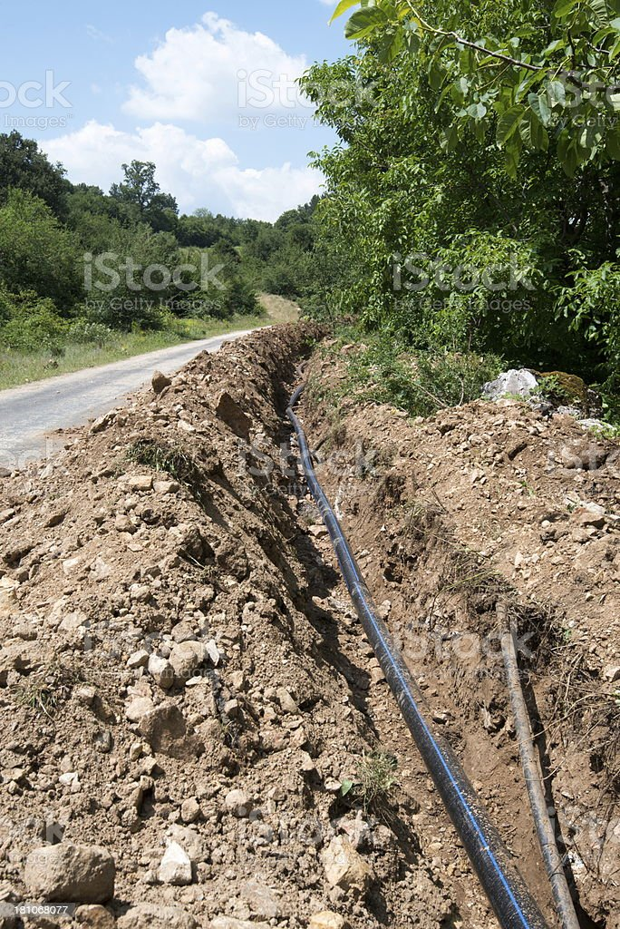 Water Tube royalty-free stock photo