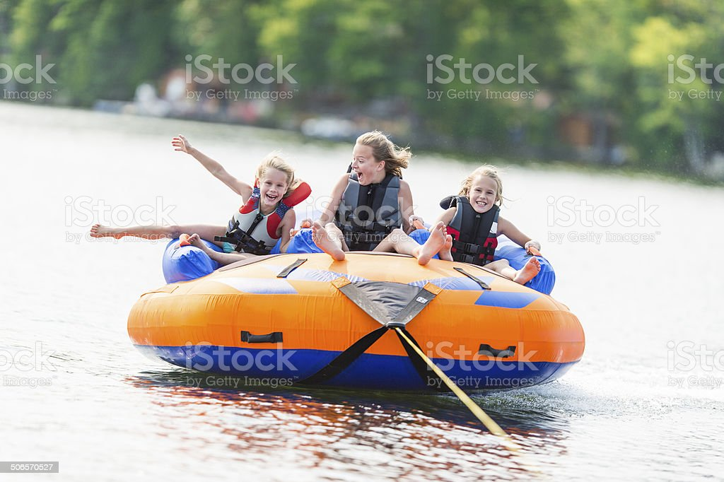 Water tubing stock photo