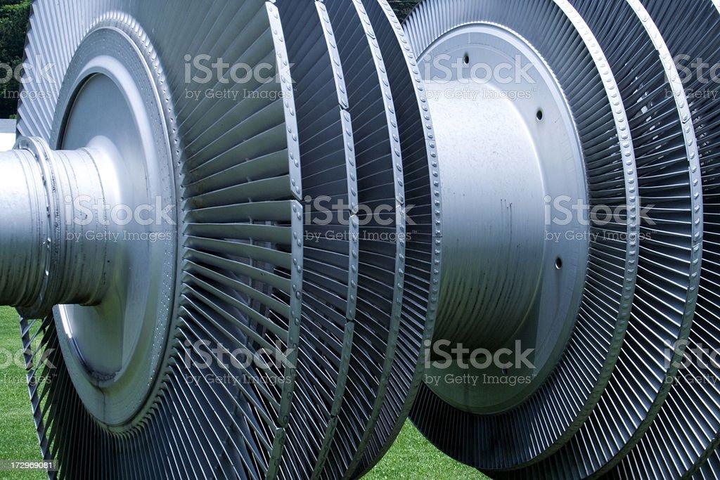 Water turbine stock photo