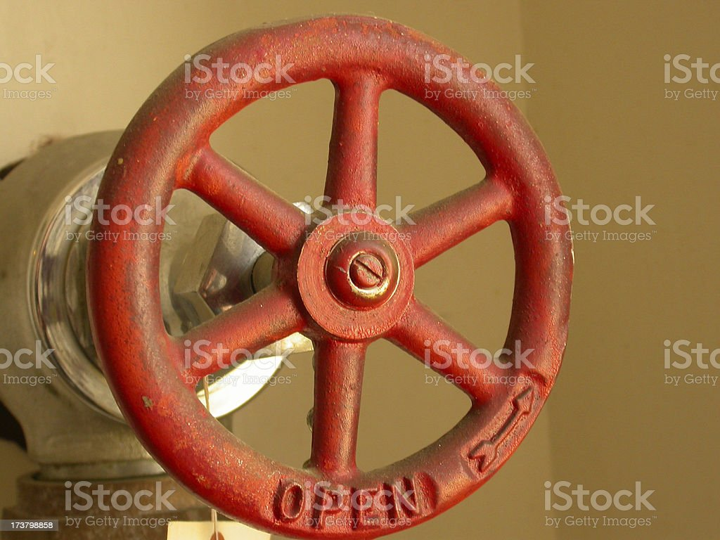Water Valve royalty-free stock photo
