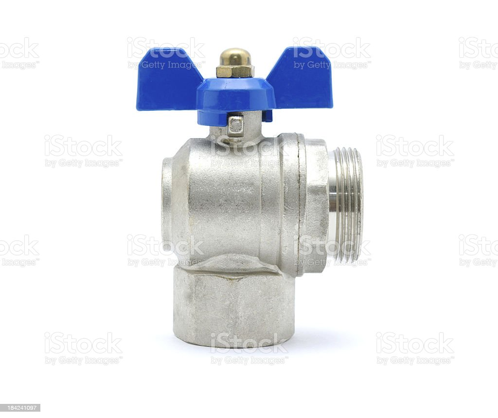 Water valve royalty-free stock photo