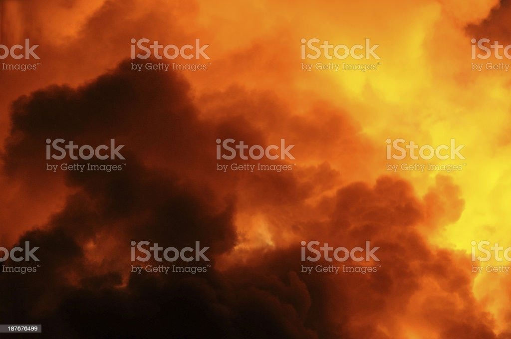 Water vapour royalty-free stock photo