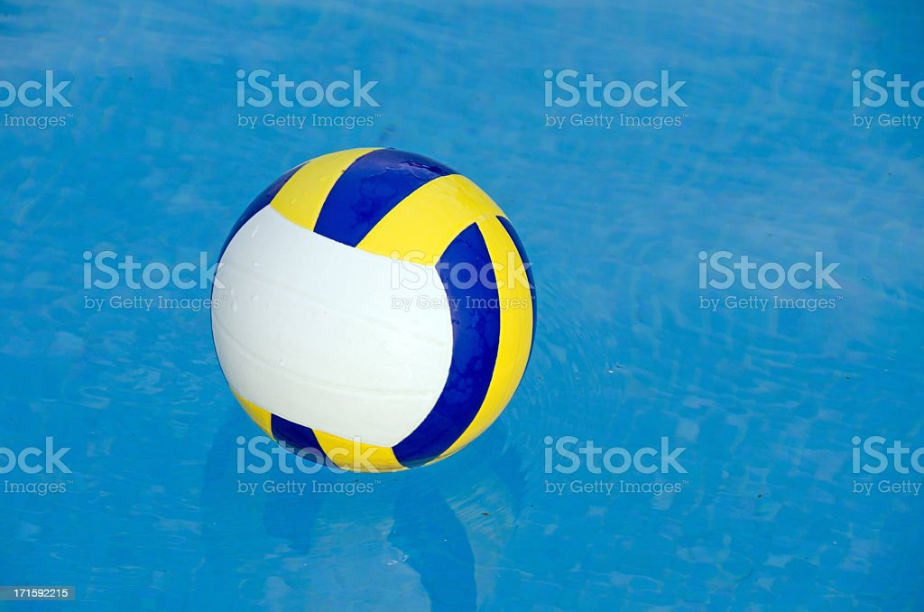 Water Volleyball Ball stock photo