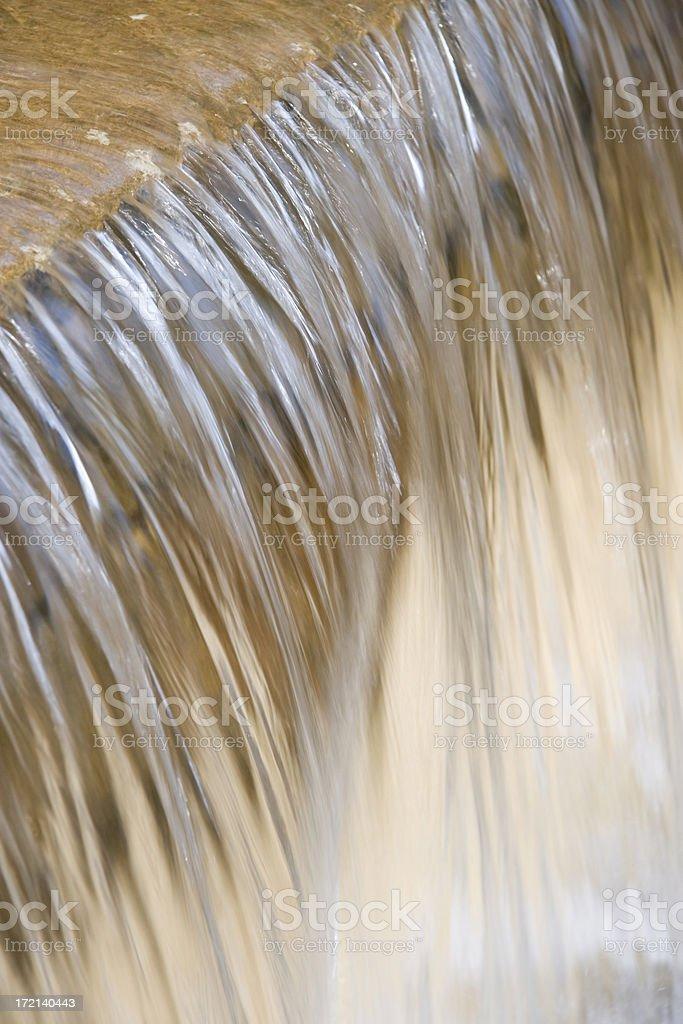 Water wall stock photo