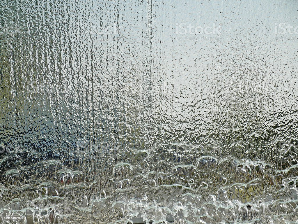 water wall translucent royalty-free stock photo
