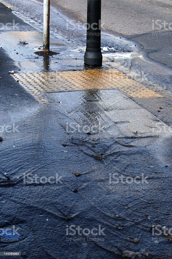 water waste stock photo