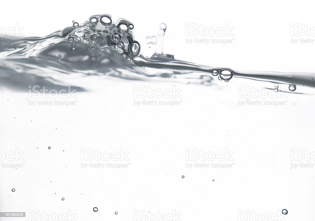 water wave royalty-free stock photo